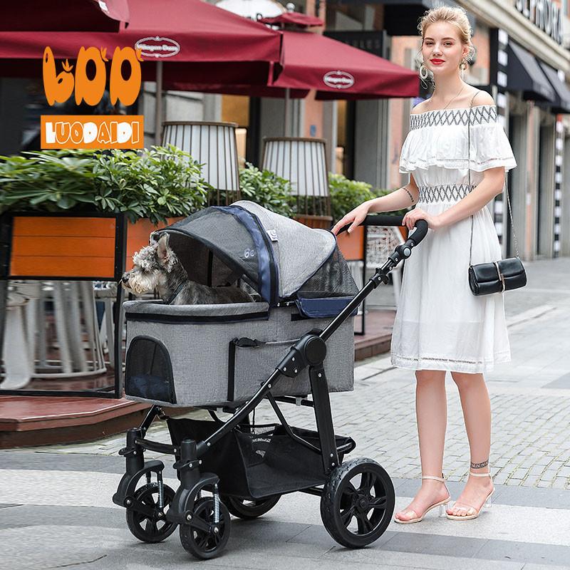Luxury pet stroller pet carrier for dogs SP09