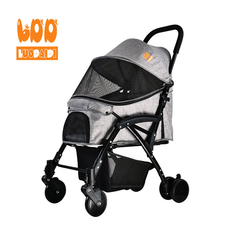 product-Folding dog strollers medium dog pram-Rodite-img-1