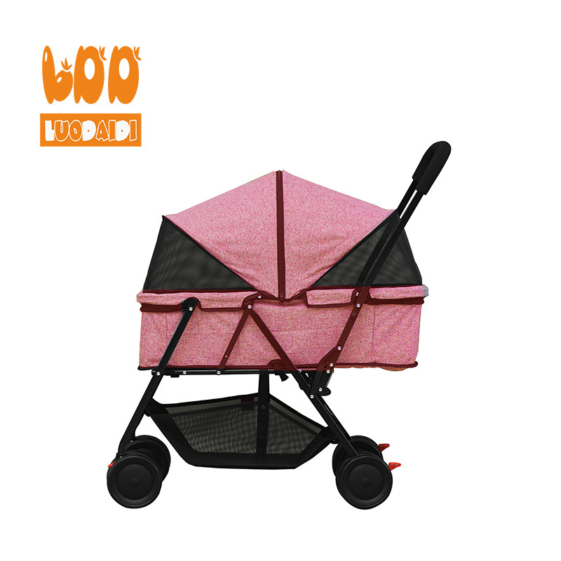 product-Rodite-Best selling dog stroller beautiful pet trolley-img