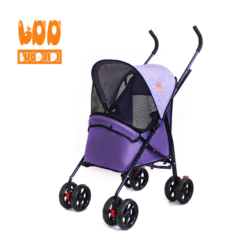 Folding pet strollers pet carrier dog china supply