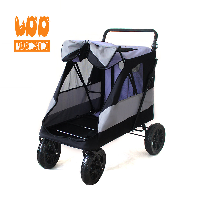 Luxury pet stroller for large dogs-Rodite