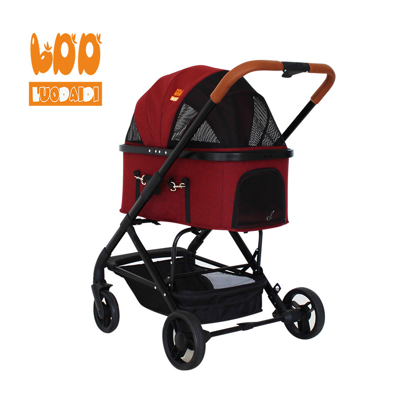 product-Adjustable handle dog stroller made in china LD04-Rodite-img-1