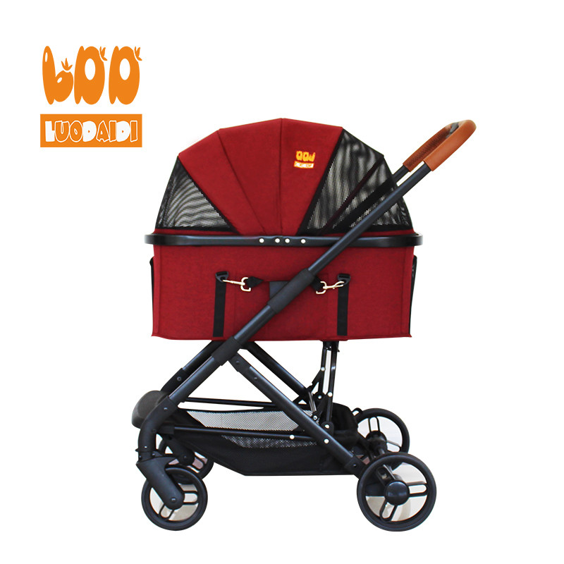 product-Rodite-Adjustable handle dog stroller made in china LD04-img