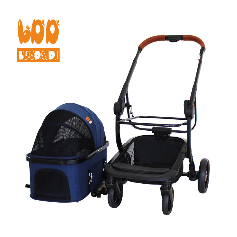 Cheap dog carrier with foldable pet bag LD05