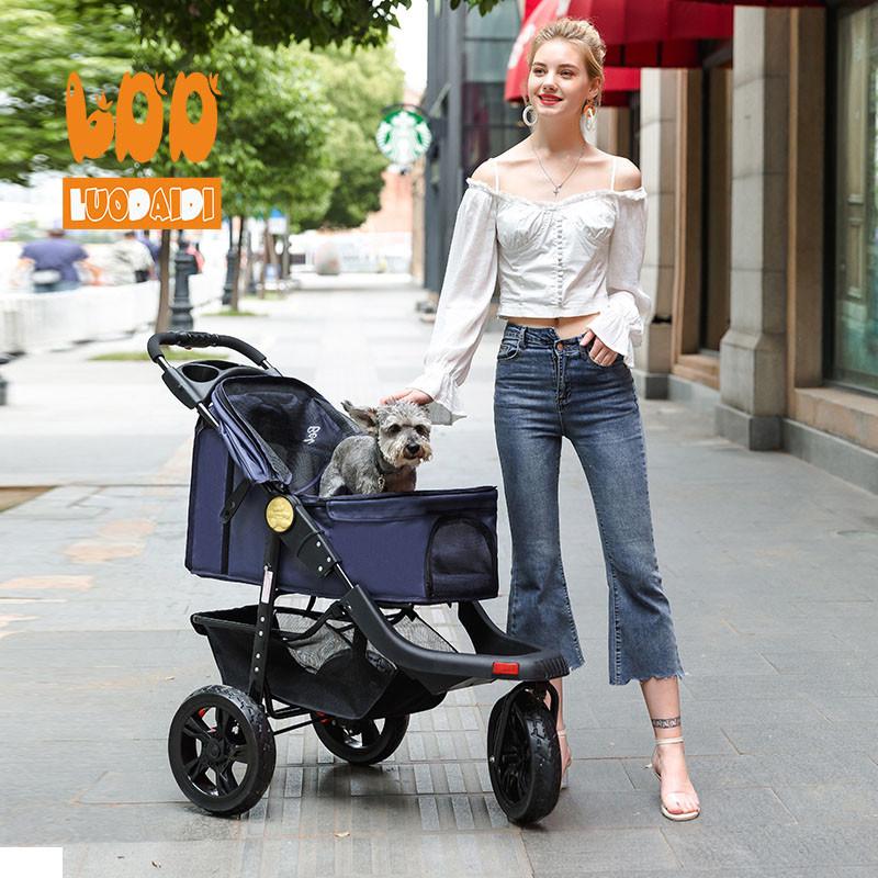3 wheels pet stroller for sale SP05