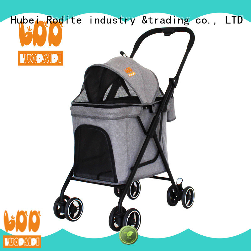 Rodite customized pet pram wholesale for small dogs