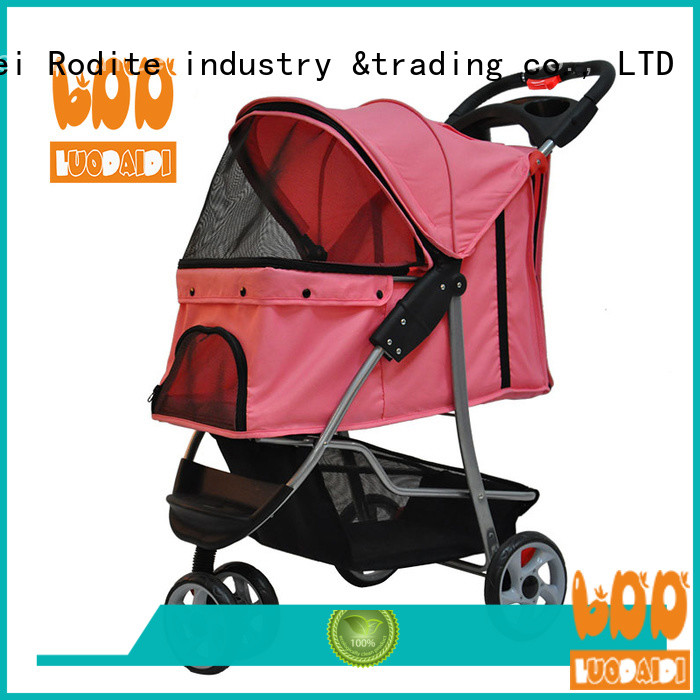Rodite stainless pet stroller carrier supplier for pets