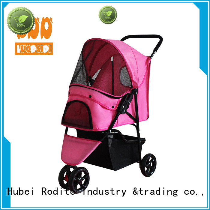 Rodite four wheel trolley low price for small dogs