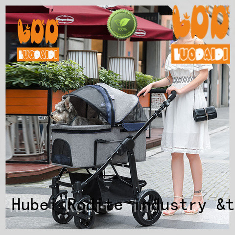 heavy duty double pet stroller low price for travel