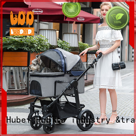 Rodite 4 wheels trolley low price for pets