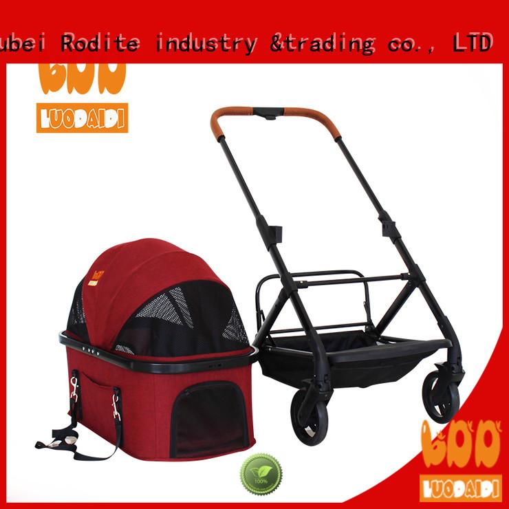 Rodite beautiful pet gear dog stroller manufacturer for shopping