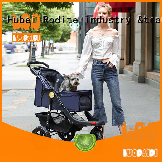 customized pet stroller for large dogs supplier for shopping