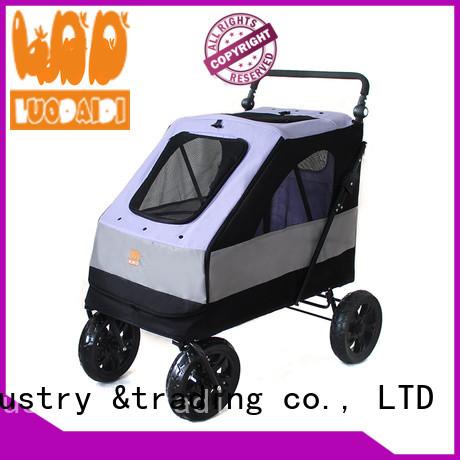 Rodite double pet stroller supplier for medium dogs