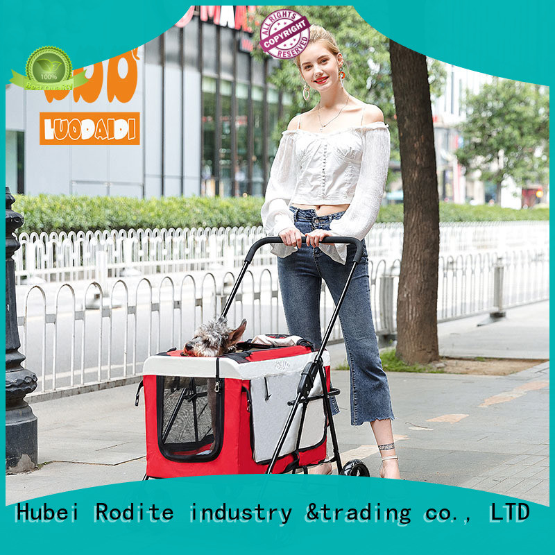 beautiful dog stroller jogger supplier for small dogs