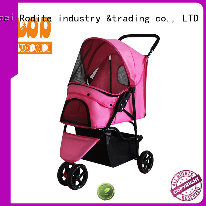 stainless pawhut pet stroller low price for medium dogs