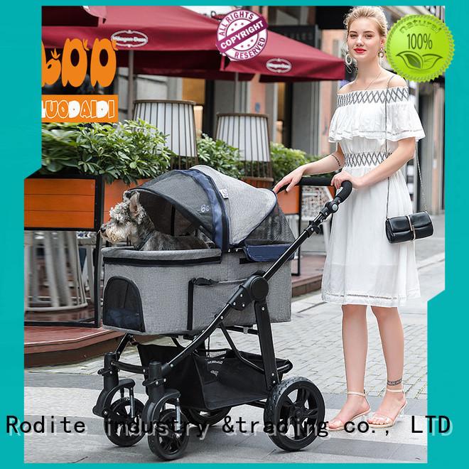 folding pawhut pet stroller manufacturer for travel