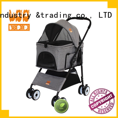 stainless four wheel trolley manufacturer for travel