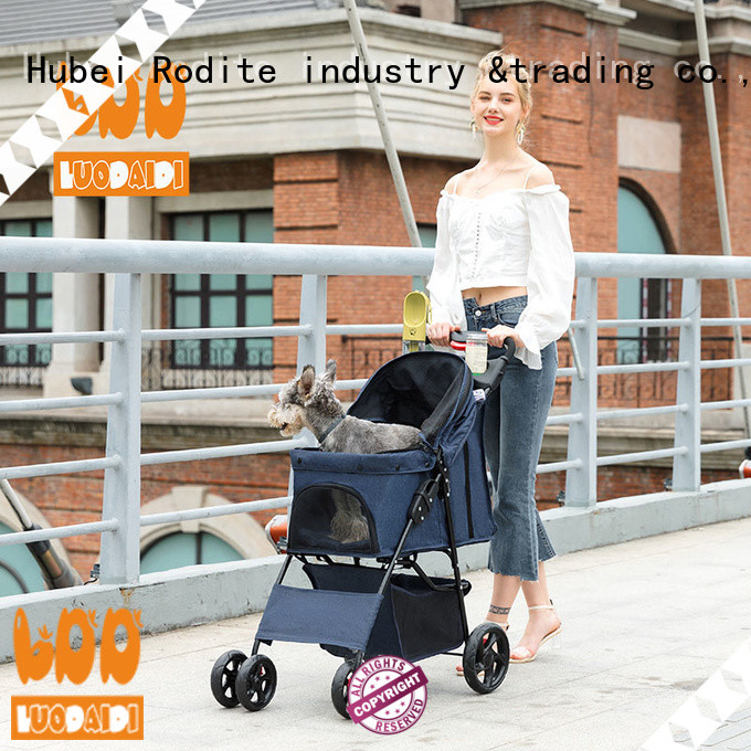 Rodite pet stroller carrier low price for large dogs