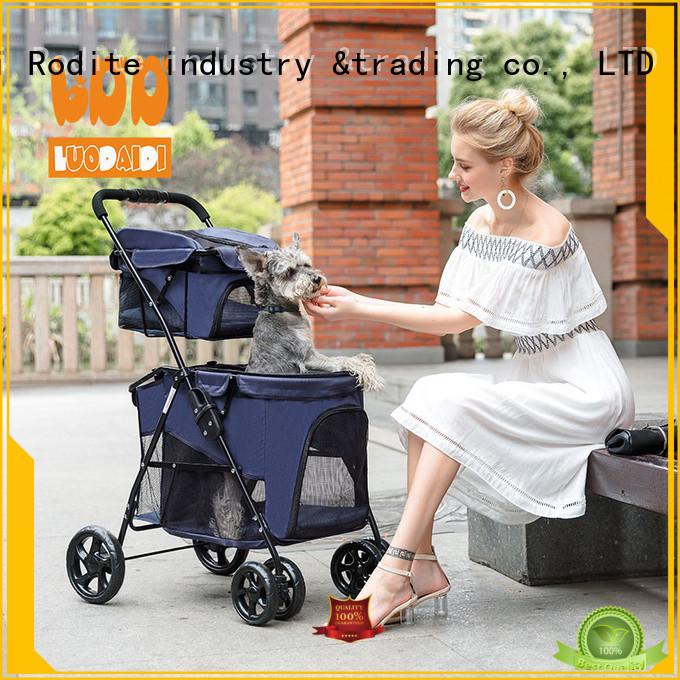 dog pet stroller supplier for medium dogs Rodite
