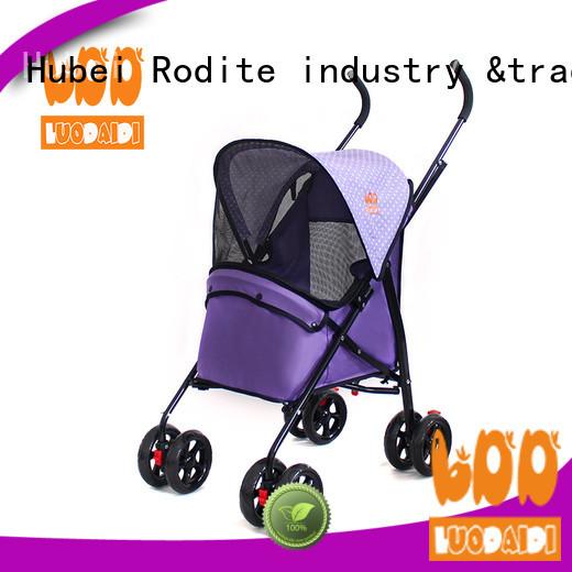 Rodite luxury pet stroller carrier supplier for pets