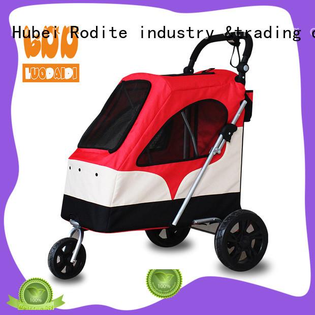 foldable pet stroller for large dogs manufacturer for large dogs