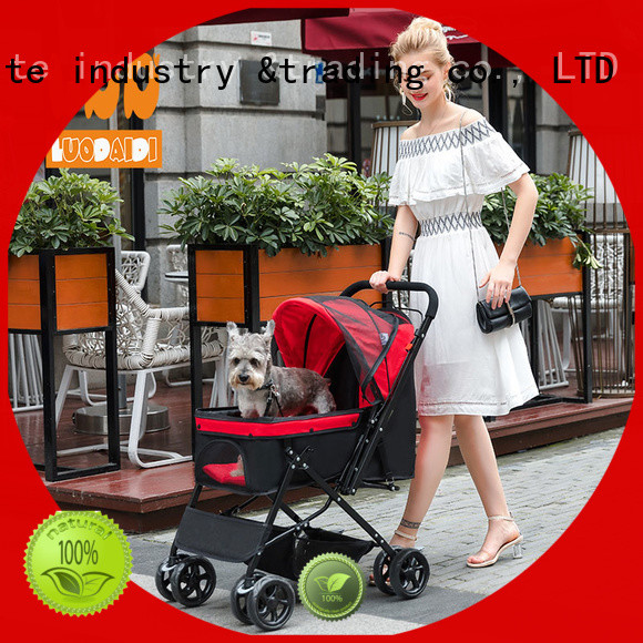 Rodite dog stroller jogger manufacturer for shopping