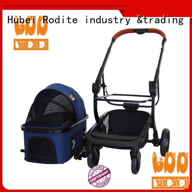 folding dog stroller for large dogs manufacturer for shopping