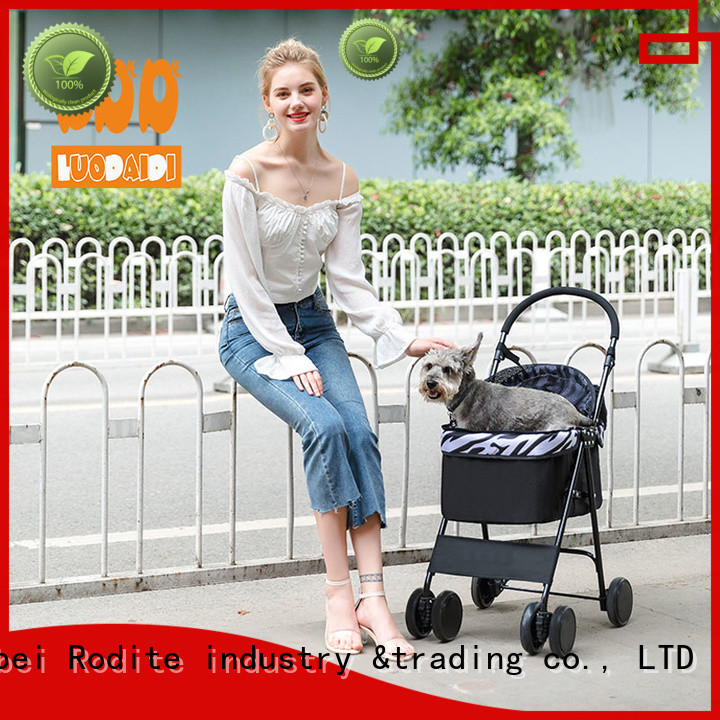 Rodite pet carrier stroller wholesale for large dogs