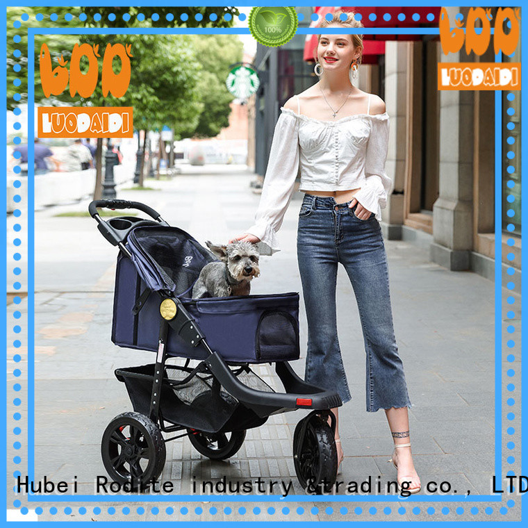 adjustable dog trolley supplier for cats