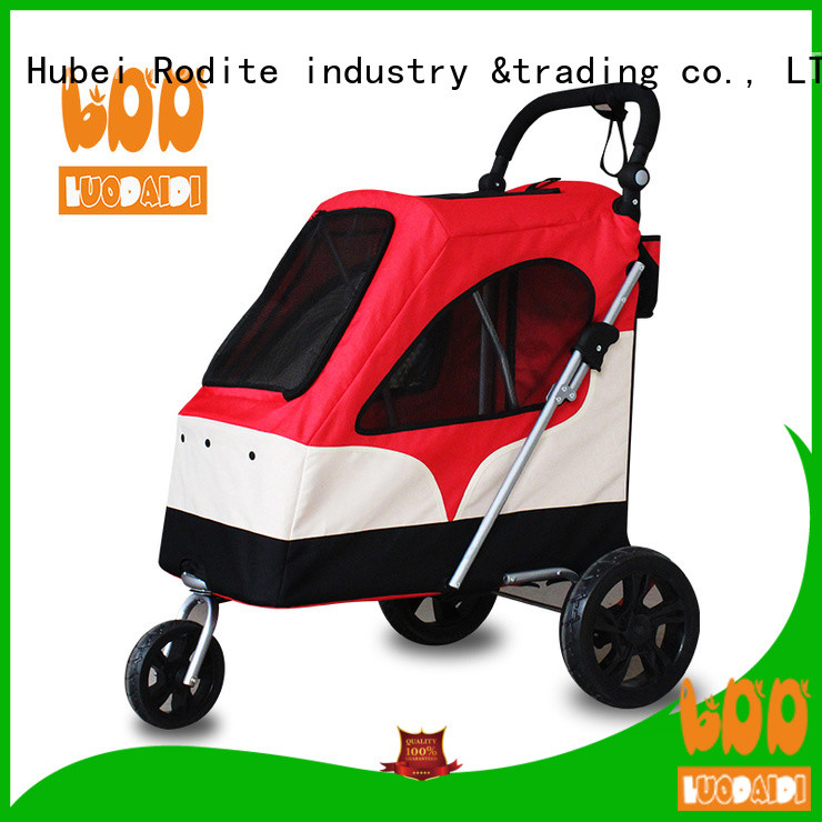 Rodite folding pet gear dog stroller supplier for travel