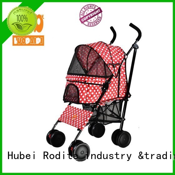 Rodite foldable 4 wheels trolley wholesale for travel
