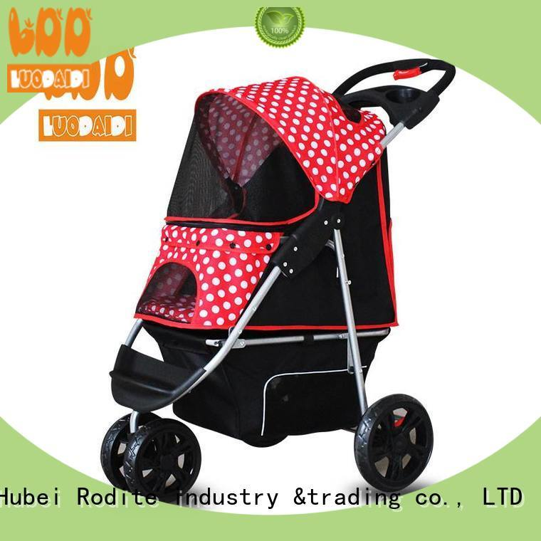 adjustable pet carrier stroller wholesale for small dogs