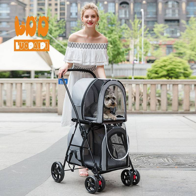 Twin stroller for dogs BL12