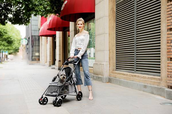 Chinese wholesale foldable pet stroller SP01-Rodite