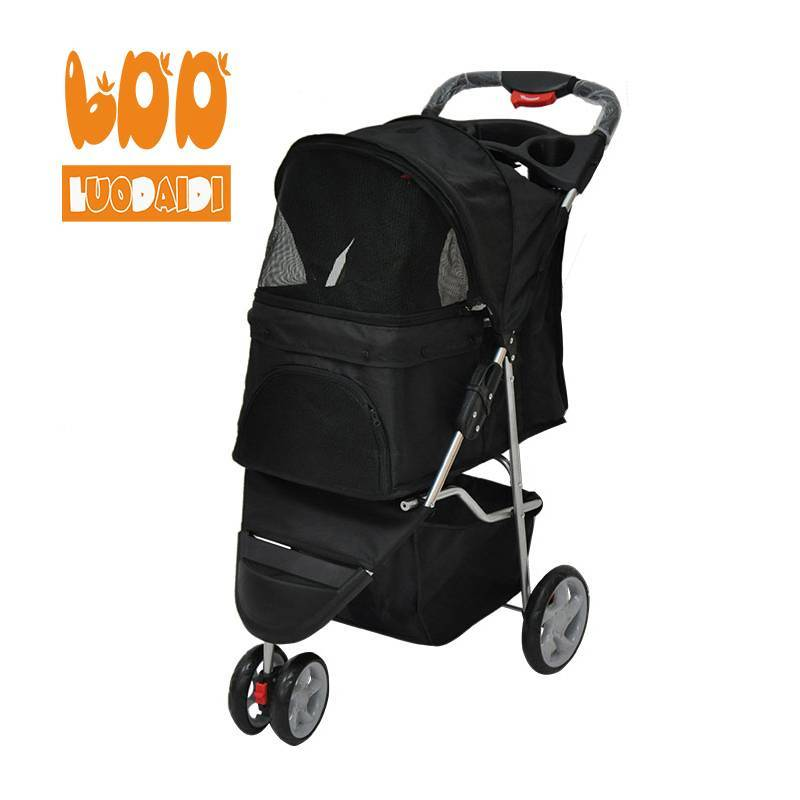 Stainless steel dog trolley SP03