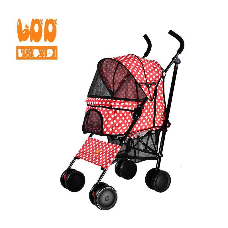 Cheap dog strollers both front and rear entry SP07