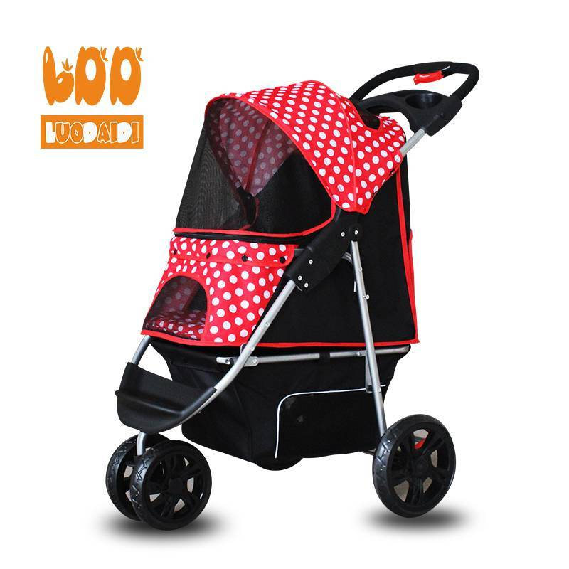 4 wheel pet stroller for medium dog BL05