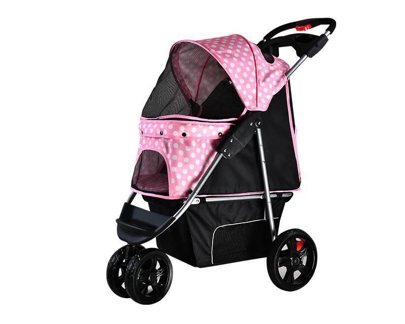 4 wheel pet stroller for medium dog BL05-Rodite