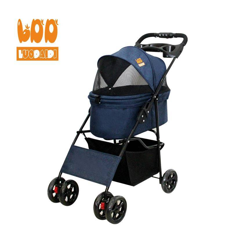Cheap dog stroller dog pram for sale SP02K