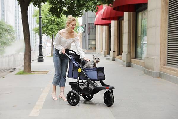 Rodite-3 wheels pet stroller for sale SP05