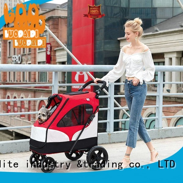 luxury pet trolley carrier manufacturer for small dogs