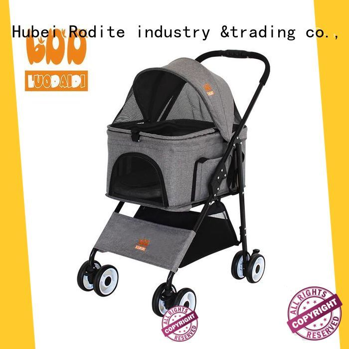 Rodite luxury pet trolley wholesale for cats