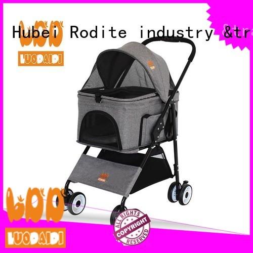 adjustable dog stroller jogger supplier for medium dogs