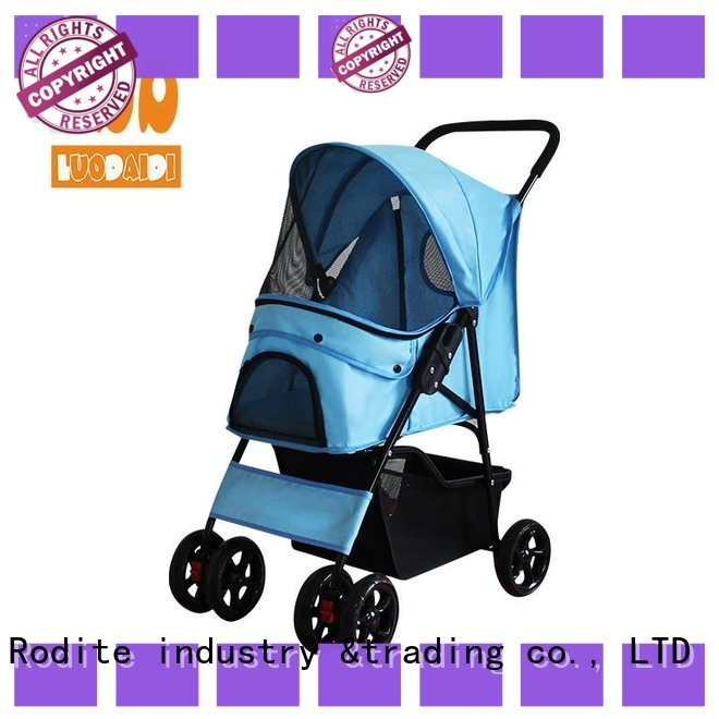 detachaable dog trolley manufacturer for medium dogs