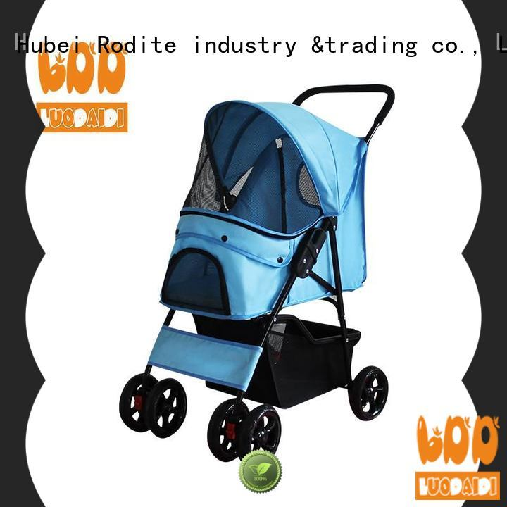 Rodite four wheel trolley low price for large dogs