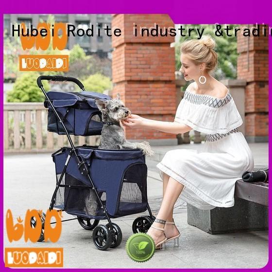 Rodite luxury pawhut pet stroller supplier for travel