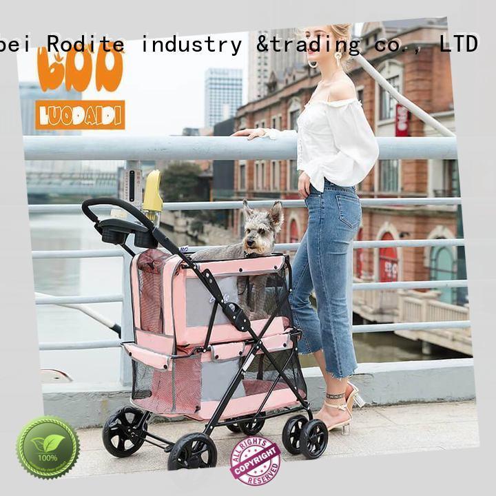 Rodite pet carrier stroller wholesale for pets