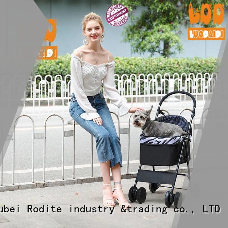 Rodite adjustable dog buggy manufacturer for medium dogs