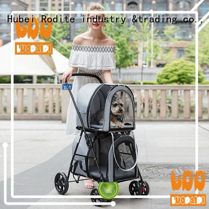 Rodite foldable jogger pet stroller low price for small dogs