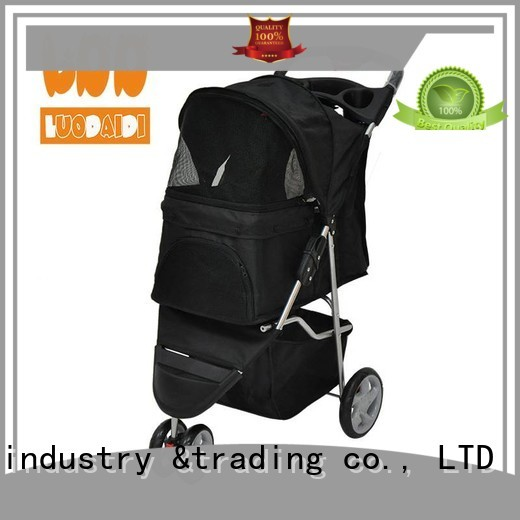 foldable pet trolley low price for cats